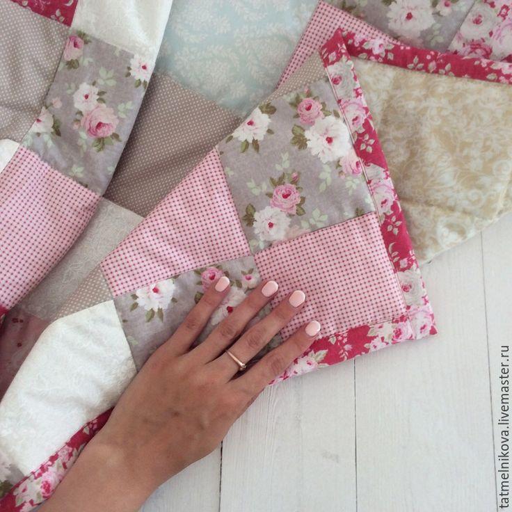 Купить Лоскутное покрывало Пэчворк. - разноцветный, лоскутное покрывало, лоскутное одеяло, одеяло пэчворк