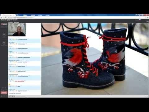 """Мыльная среда, выпуск 22. """"Дизайнерская обувь своими руками"""" - YouTube"""