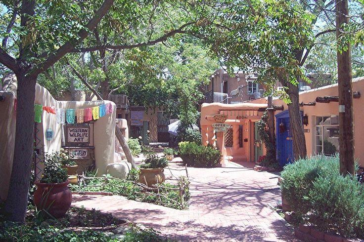 Albuquerque NM, Old Town.
