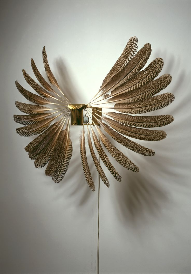 Rebecca Horn, Large Feather Wheel 1997