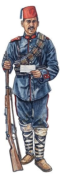 Noting Nizam-ı Cedid army. Nizam-ı cedid 1717-1807. This is the üniform of the Balkans(1912-1914) and Kırım wars (Turko-Russo war 1853)