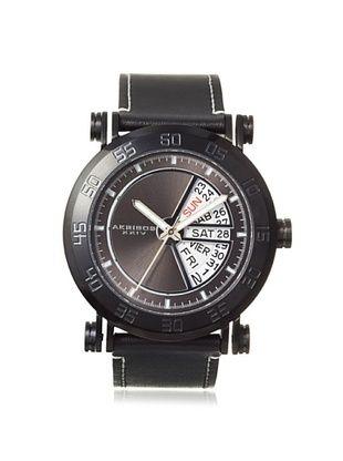 84% OFF Akribos XXIV Men's AK552BK Black/White Stainless Steel Watch