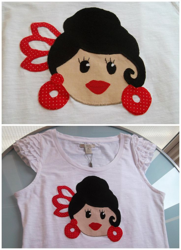 Camiseta flamenca junio 2012 #patchwork #moda