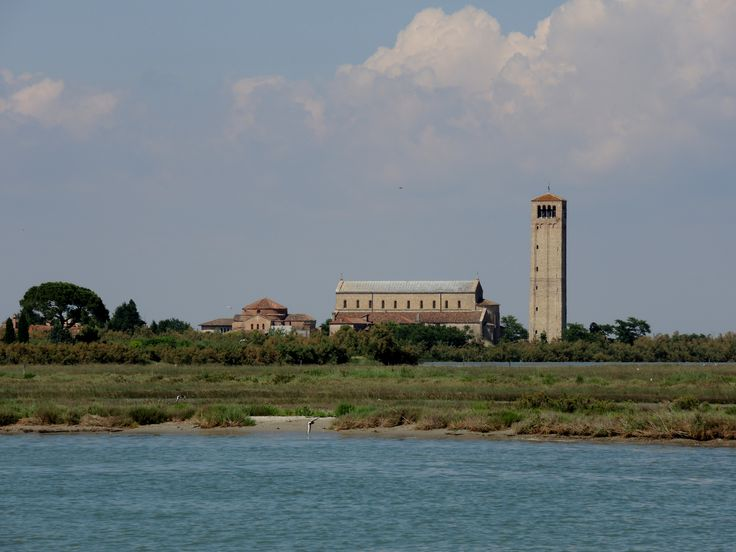 Torcello's cathedral seen from Burano