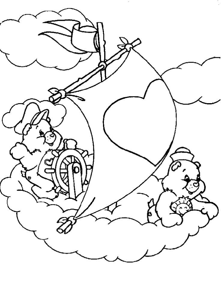 care bears coloring pages to print free coloring pages to print or color online - Free Coloring Pictures To Print