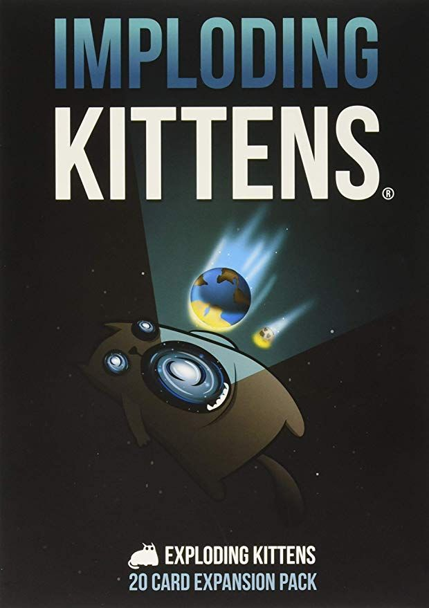 The Game Capital Imploding Kittens Exploding Kittens Card Game Exploding Kittens Card Games