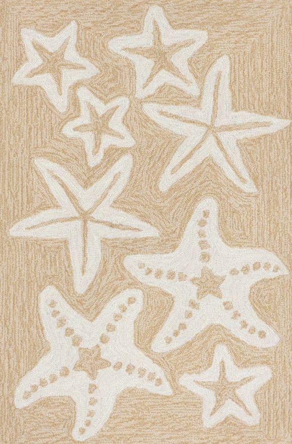 Starfish Neutral Door Mat Indoor/Outdoor