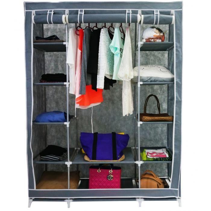 les 25 meilleures id es concernant armoire penderie tissu. Black Bedroom Furniture Sets. Home Design Ideas