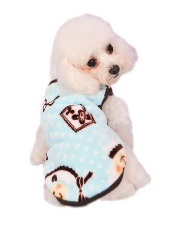 Cute Lamb Soft Pet Puppy Warm Clothes