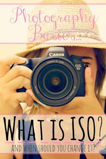 What is ISO? And how does it effect your photos? Learn how and when to change the ISO setting in your photographs.