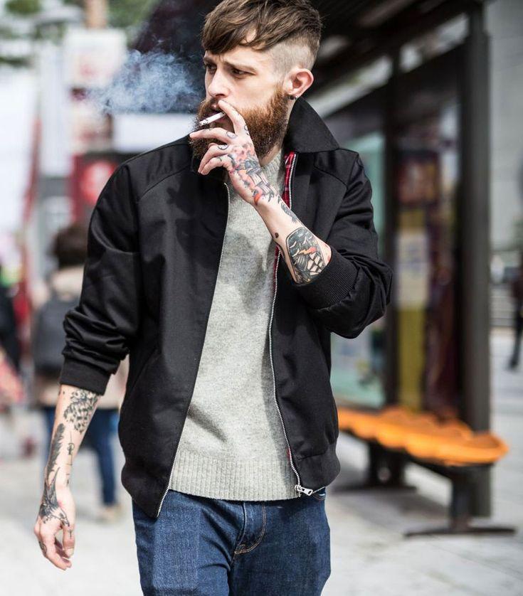 2016-12-06のファッションスナップ。着用アイテム・キーワードはデニム, ニット・セーター, ブルゾン, ヘアスタイル,etc. 理想の着こなし・コーディネートがきっとここに。| No:181798