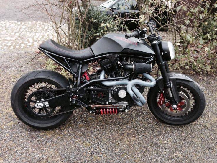 Mercenary+Garage+Design+Dublin+Ireland+Custom+Motorcycle+Workshop+Matte+Black+Buell+S1+Streetfighter.jpg (736×552)