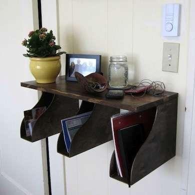 Mail Organizer - IKEA Hacks - 16 Ingenious DIY Projects - Bob Vila