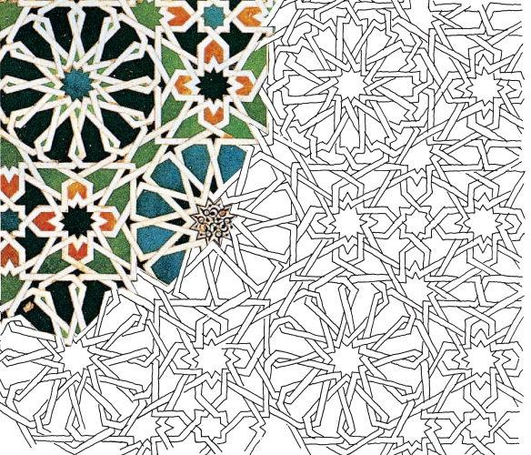 islamische ornamente