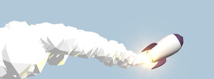 Rocket, by Bastien Delmare / bastiendelmare.com