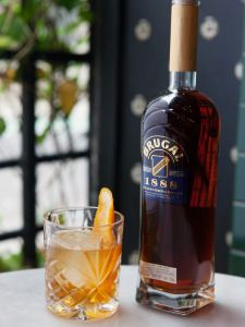 Brugal Rum:  Entirely produced in the Dominican republic.  Founded by Andres Brugal, a Spanish national who migrated to Santiago de Cuba and later to Puerto Plata DR.  It is the world's  third largest producer of Rum.  Puerto Plata, DOMINICAN REPUBLIC.