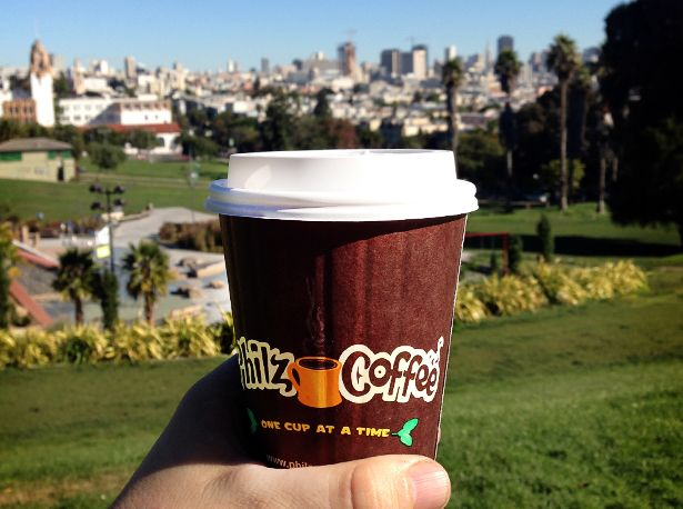 Philz Coffee | SoMa, SF. Their Mint Mojito Iced Coffe is a must-have in SF.  #VXTraveler