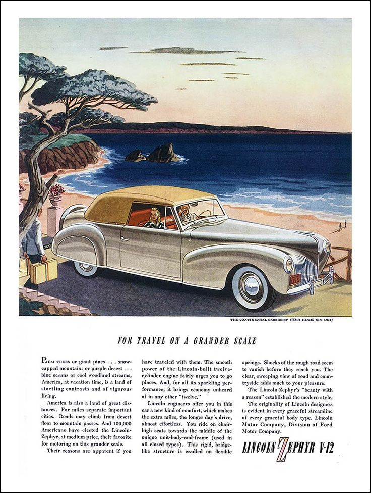 298 best Classic Marques - Lincoln images on Pinterest | Vintage ...