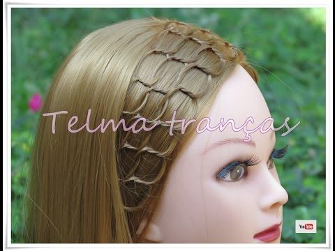 Tiara de trança Aliança, Alliance Braid Headband - Telma tranças - YouTube