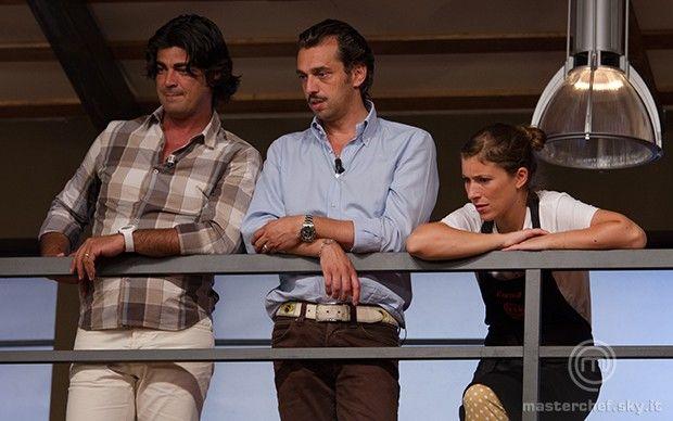 Almo, Salvatore ed Enrica in balconata