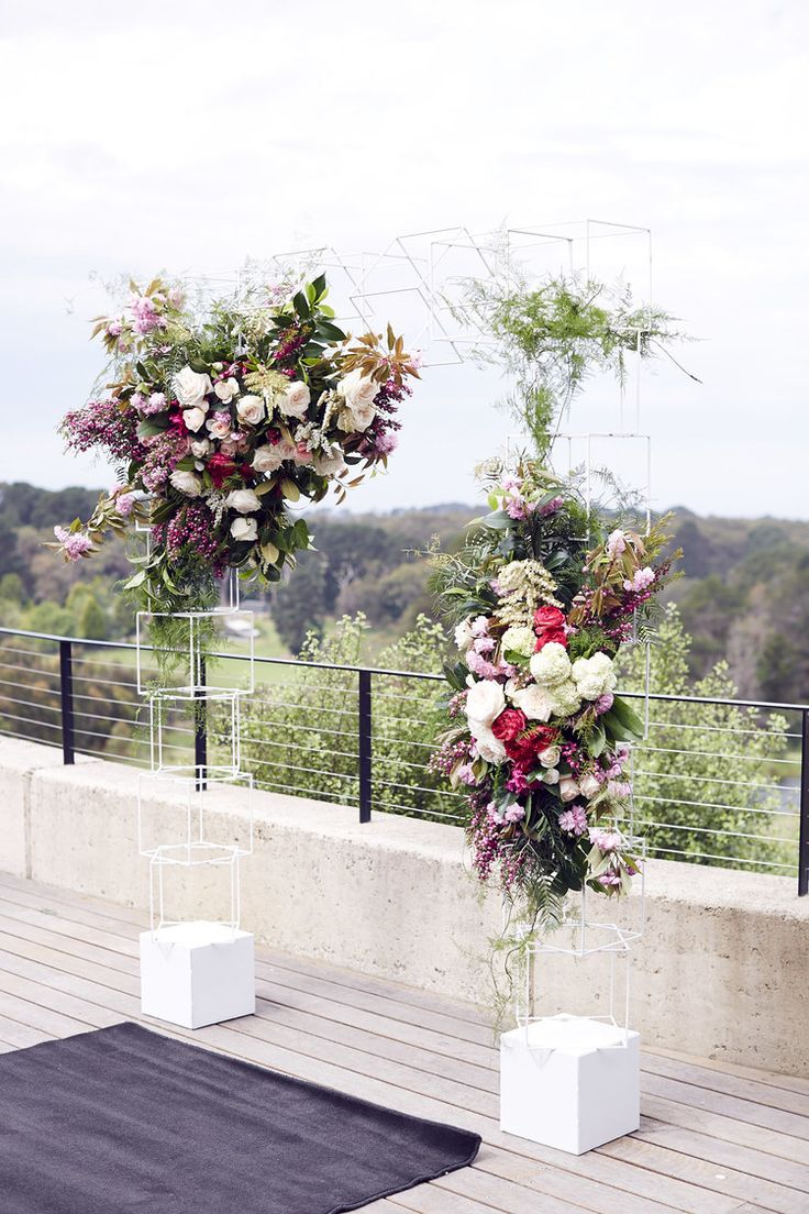 Lost In Love Wedding Photography - Port Phillip Estate Wedding styling - floral arch