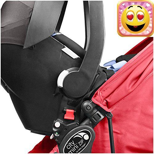 The #City Mini zip Car Seat Adapter is the easiest way to turn your stroller into a #customized travel system. Attaching your car seat to your stroller has never ...