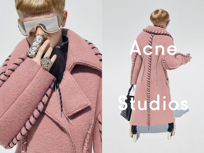 Acne Studios taps its Creative Director's 11-year-old son to star in fall womenswear campaign | アクネ が最新ウィメンズ広告にクリエイティブディレクターの11歳の息子を起用