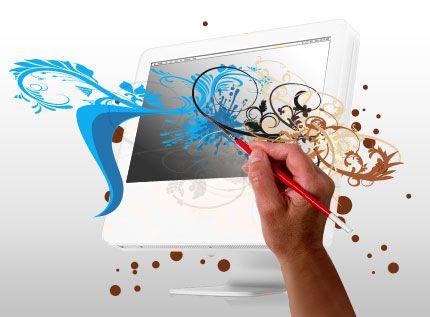 provides website design services