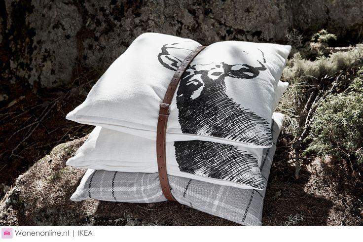 Trek je tijdens de koude winterdagen terug in de warmte van een gezellige berghut met de CHALET II collectie van IKEA.