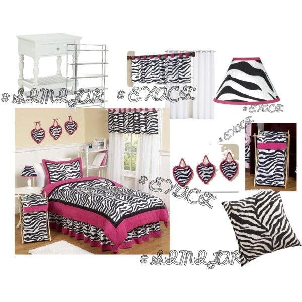 pink zebra bedroom by iloveonedirection17 on polyvore