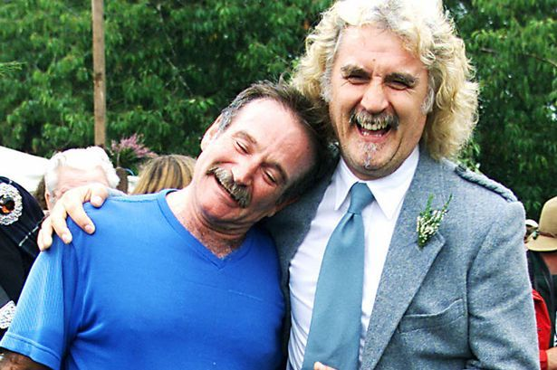 Robin Williams 'found peace' in Scottish Highlands trips with pal Billy Connolly…