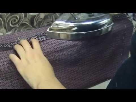 ВТО боковых швов деталей юбки