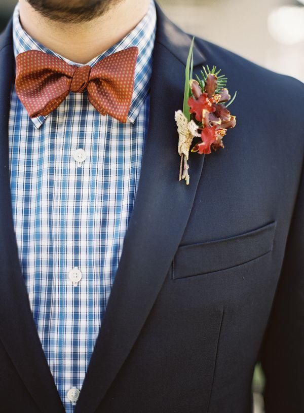 Winter Wedding Groom's Attire Ideas 14