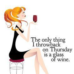 Throwback Thursday wine