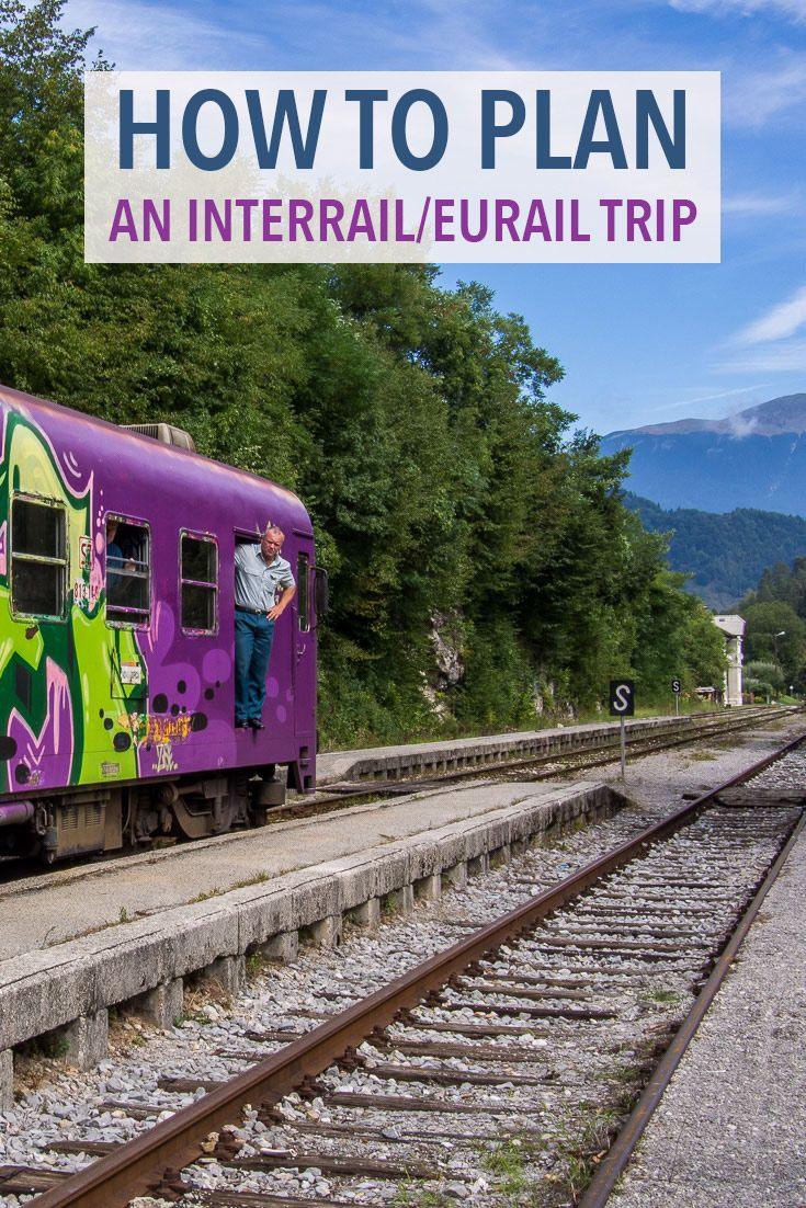 Train is the best way to travel Europe. These tips will help you plan the perfect Interrail or Eurail trip including the different train passes available, how to plan your route, book seat reservations and more.