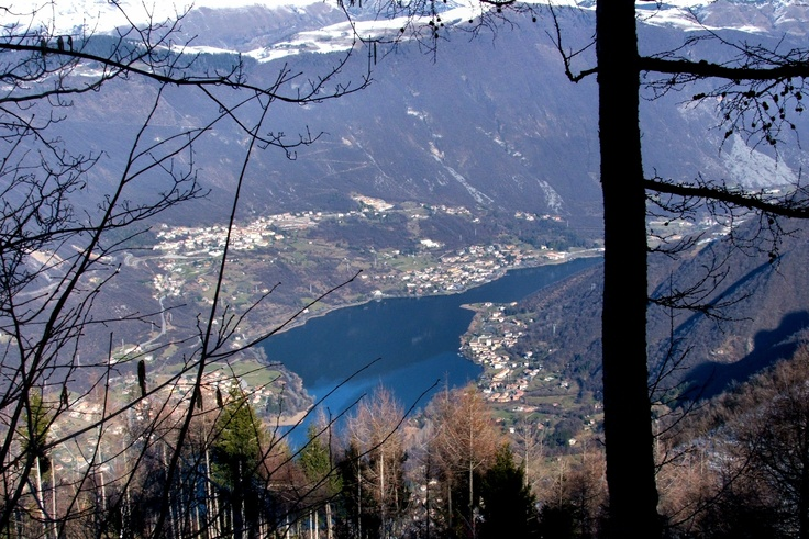 Above Lake Endine, Bergamo, Italy