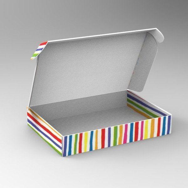 Bright Stripe Home-Shopping Packaging 1 (Min. Order 500) – Kudos Giftwrap