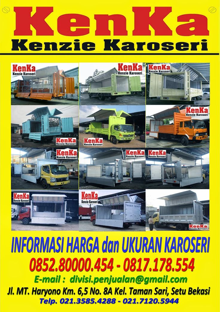 KAROSERI MOBIL TRUCK: KAROSERI TRUCK WINGBOX