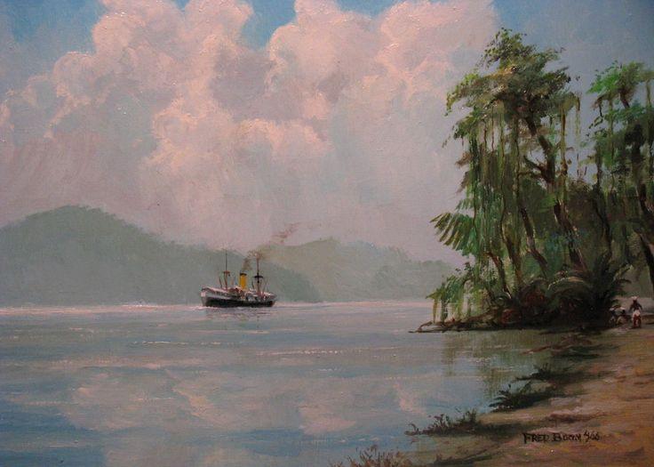 KPM schip (naam niet bekend)