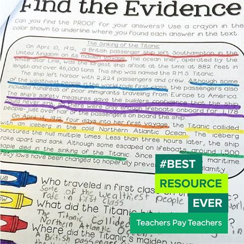 """""""These Text Detective resources (grades 2-5) are super helpful with struggling readers,"""" says Luckeyfrog's Lilypad #BestResourceEver"""