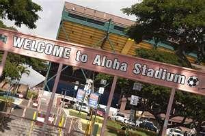 Aloha Stadium, Honolulu, HI - Home to the swap meet (huge outdoor flea market) and the Pro Bowl!
