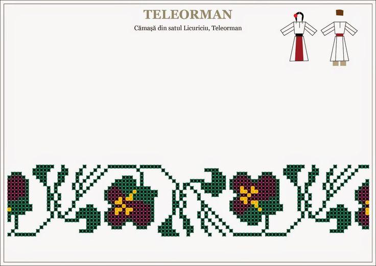 Semne cusute romanian traditional motifs muntenia teleorman beading romania pinterest - Beautiful romanian folk motifs ...