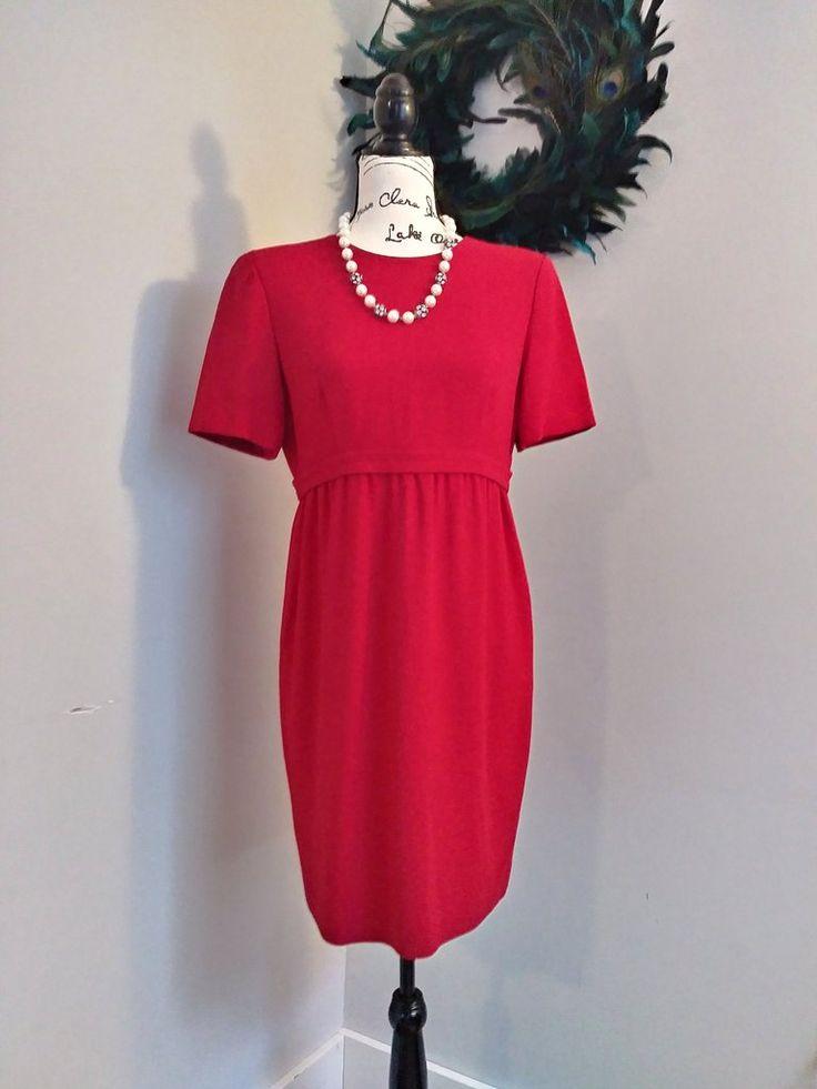 Women's Vintage 80's Petite Dress by Liz Claiborne