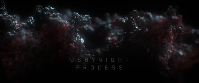 usbynight - making of    watch the titles here:  https://vimeo.com/245027741    --  tools used:  Houdini   Octane  Fusion     enjoy!