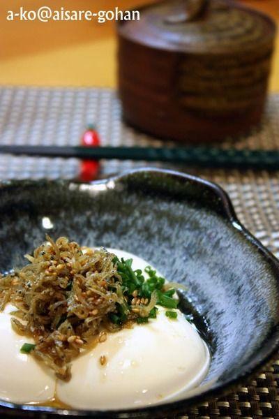 カリカリじゃこ豆腐 *ごま油風味* by ATSUKO KANZAKI (a-ko)さん ...