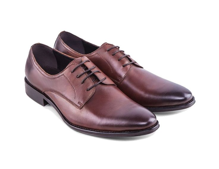 Leather Lace Up Dress Shoes by ZALORA. Leather shoes with brown color and a tan accent on the tip, made from synthetic leather and almond toe, stitching accent, lace up, this shoes is perfect for formal occasion.%0A%0A http://www.zocko.com/z/JG97v