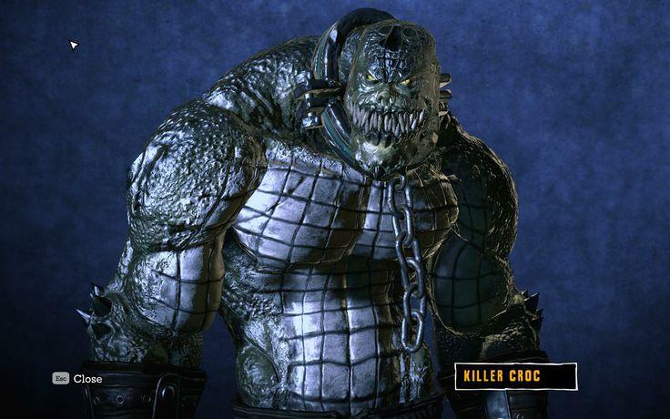 23245 - Batman: Arkham Asylum | Killer Croc | Pinterest ...