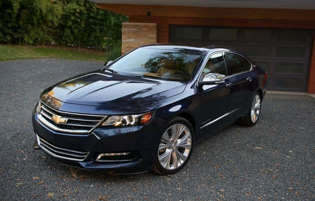 2016 Chevrolet Impala. Want in white with tan leather.