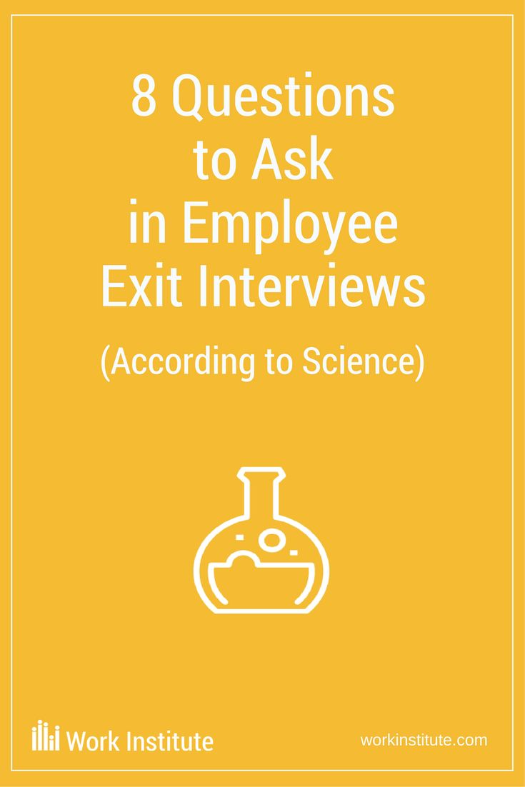 """It is recommended that employers ask employees the reasons why they left the organization through exit interviews, and understand the most important reasons, to build the most effective voice-of-employee research and retention strategies. With this, """"What questions do I ask in employee exit interviews?"""" is a frequently asked question – with a scientifically proven answer. #exitinterviews #workinstitite #employeeengagement #employeeretention"""