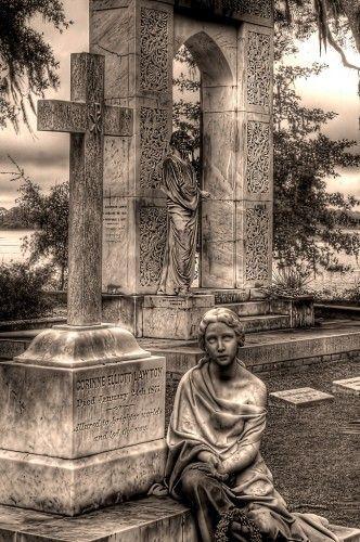 Haunted Bonaventure Cemetery, Savannah